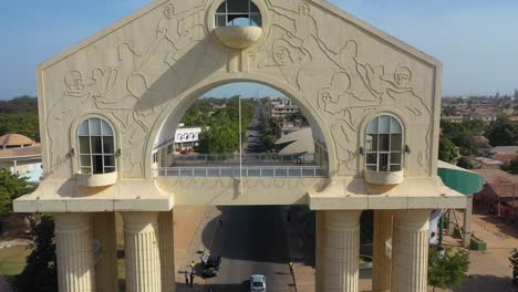 Aerial-View-Of-Arch-22-Gateway-To-Gambia-West-Africa-3