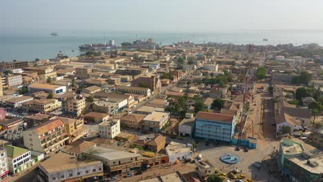 Good-Aerial-Views-Of-A-Coastal-City-In-West-Africa-Banjul-Gambia-3