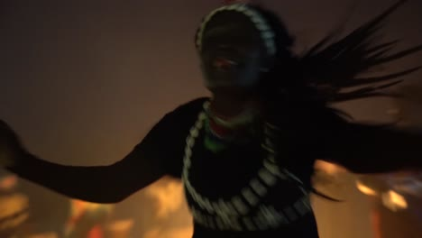 African-Tribal-Dancers-Dance-To-Drum-Rhythms-In-Front-Of-A-Bon-Fire-In-West-Africa-1