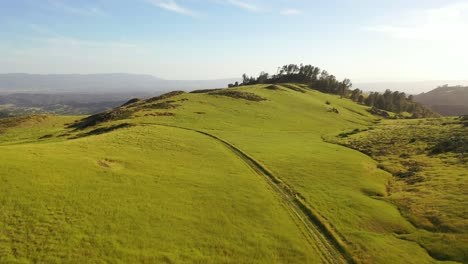 Beautiful-Aerial-Over-Grassland-And-Remote-Hills-And-Mountains-Reveals-Santa-Ynez-Valley-Santa-Barbara