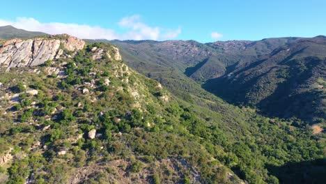 Aerial-Over-A-Remote-Canyon-Arroyo-Hondo-In-Gaviota-Santa-Barbara-County-California-1