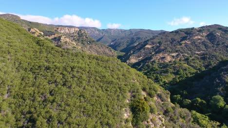Antenne-über-Einem-Abgelegenen-Canyon-Arroyo-Hondo-In-Gaviota-Santa-Barbara-County-Kalifornien-4