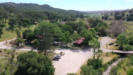 Beautiful-Aerial-Over-A-Horse-Farm-Or-Ranch-In-Santa-Barbara-County-California-3