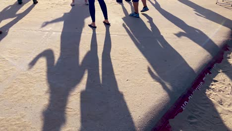 People-Practice-Learn-Line-Dancing-And-Dance-Outdoors-At-A-Beach-In-Ventura-Southern-California-2