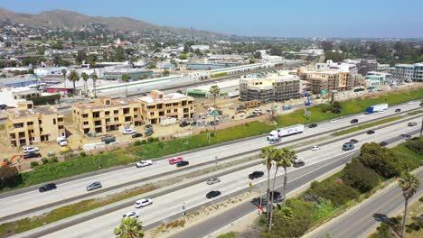 Aerial-Of-Condos-And-Development-Construction-Along-The-Pacific-Coast-Near-Ventura-California-2