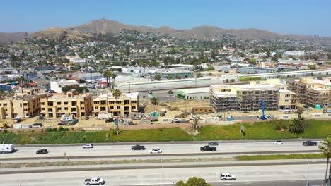 Aerial-Of-Condos-And-Development-Construction-Along-The-Pacific-Coast-Near-Ventura-California-3