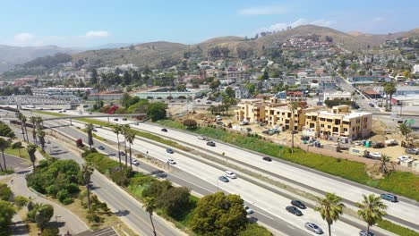 Aerial-Of-Condos-And-Development-Construction-Along-The-Pacific-Coast-Near-Ventura-California-4