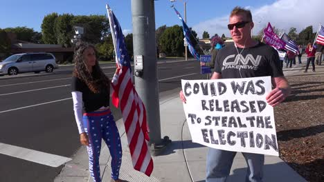 Trump-Supporters-Protest-Election-Fraud-In-The-Us-Presidential-Elections-With-Sign-Saying-Covid-Was-Released-To-Steal-The-Election