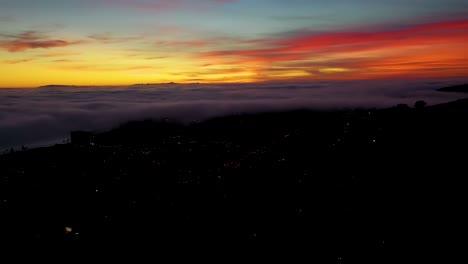Night-Or-Dusk-Aerial-Over-Fog-Rolling-Into-Ventura-California-City-Near-Los-Angeles-3