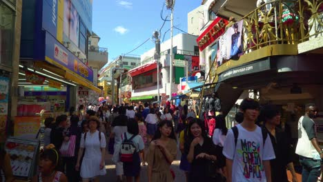 A-crowded-shopping-district-is-seen-in-Shibuya-Tokyo-Japan