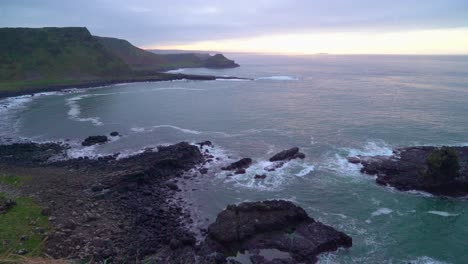 Giant-s-Causeway-is-seen-at-dusk-in-Antrim-County-Northern-Ireland