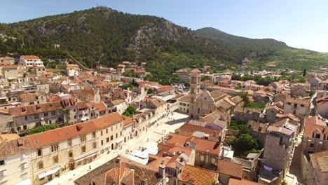 An-Aerial-View-Of-Hvar-Croatia-Highlights-The-Franciscan-Monastery