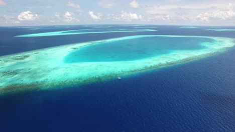 An-Aerial-View-Shows-The-Reef-Outside-Maldives-1