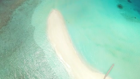 A-Bird-Seyeview-Shows-A-Sand-Island-On-Maldives