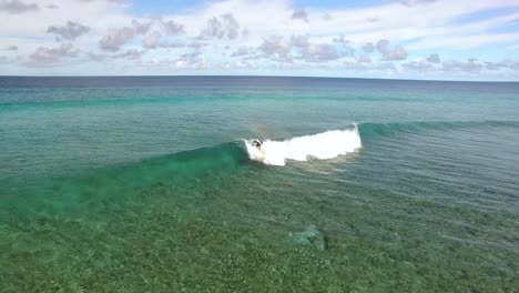 A-Man-Goes-Surfing-In-Maldives