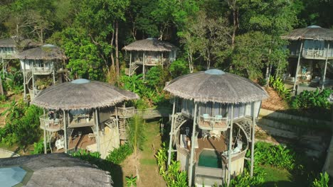 Tourists-Enjoy-Tropical-Lodgings-In-A-Thailand-Jungle-Resort
