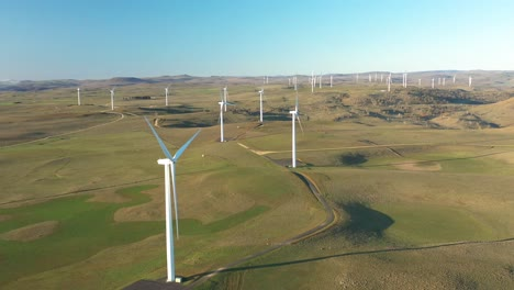 An-Excellent-Aerial-View-Of-The-Boco-Rock-Wind-Farm-In-New-South-Wales-Australia-1