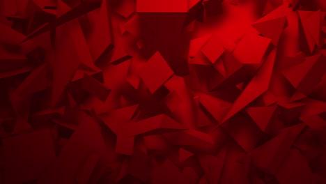 Movimiento-Triángulos-Rojo-Oscuro-Formas-Fondo-Geométrico-Abstracto