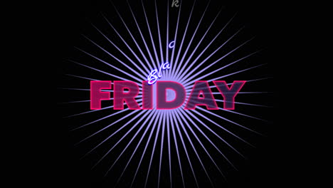 Animation-intro-text-Black-Friday-on-fashion-and-club-background-with-glowing-purple-vertigolines