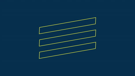 Animation-intro-text-Cyber-Monday-on-blue-fashion-and-minimalism-background-with-geometric-lines