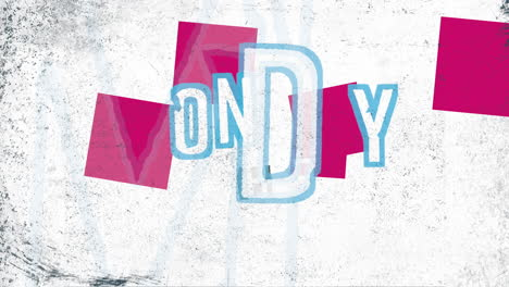 Animation-intro-text-Cyber-Monday-on-white-hipster-and-grunge-background-with-noise