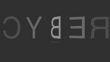 Animation-intro-text-Cyber-Monday-on-black-fashion-and-minimalism-background-2