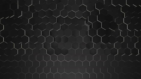Motion-dark-small-black-hex-grid-background-abstract-background