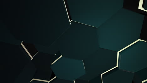 Motion-dark-black-and-green-hex-grid-background-abstract-background-1