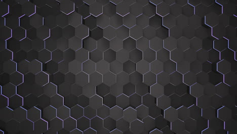 Motion-dark-black-and-blue-hex-grid-background-abstract-background
