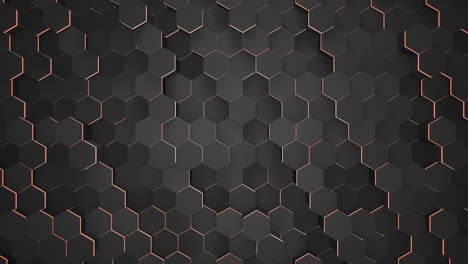 Motion-dark-black-and-red-hex-grid-background-abstract-background