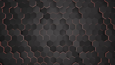 Motion-dark-black-and-red-hex-grid-background-abstract-background-1