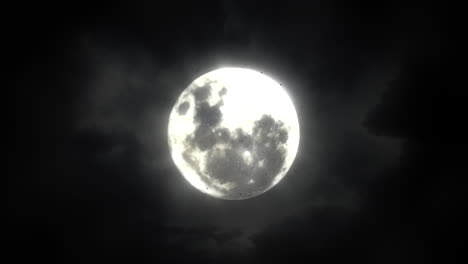 Mystical-animation-halloween-background-with-dark-moon-and-clouds-abstract-backdrop
