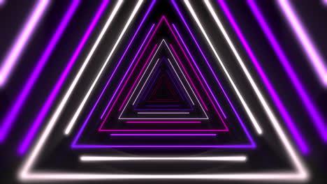 Movimiento-Colorido-Láser-Neón-Triángulos-Extracto-Plano-De-Fondo-1