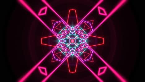 Forma-Geométrica-De-Neón-Abstracto-De-Movimiento-En-El-Fondo-Del-Club-Láser-Espacial-5