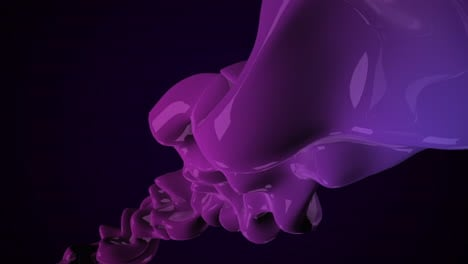 Motion-dark-purple-liquid-futuristic-shapes-abstract-geometric-background