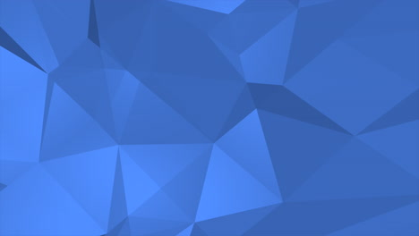 Dark-blue-low-poly-abstract-background