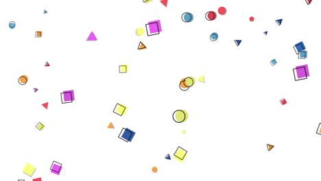 Movimiento-Formas-Geométricas-Abstractas-Puntos-Y-Cuadrados-Colorido-Fondo-De-Memphis