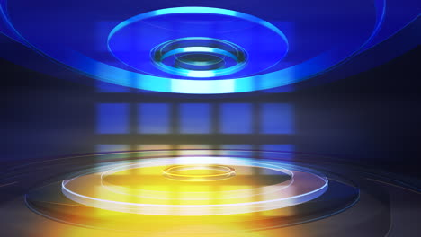 Intro-news-graphic-animation-in-studio-with-circular-shapes-abstract-background-2