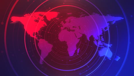 News-graphic-animation-with-lines-and-world-map-abstract-background