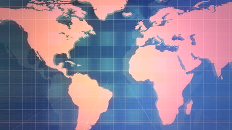 News-graphic-animation-with-lines-and-world-map-abstract-background-2