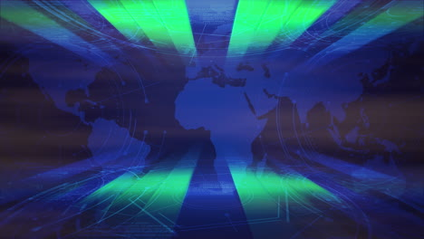 Intro-news-graphic-animation-with-neon-lines-and-world-map-abstract-background-1
