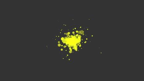 Animación-Volar-Abstracto-Oro-Amarillo-Bokeh-Y-Partículas-Sobre-Fondo-Brillante-Feliz-Año-Nuevo-Y-Feliz-Navidad-Tema-2
