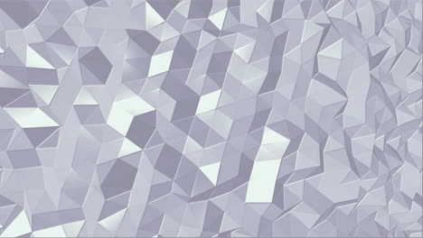 Motion-intro-geometric-white-low-poly-abstract-background