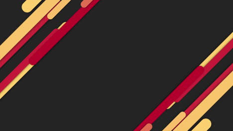 Motion-intro-geometric-yellow-and-red-lines-abstract-background