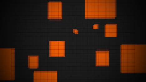 Animation-abstract-neon-pixel-and-squares-motion-disco-background