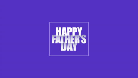 Animation-text-Fathers-day-on-purple-fashion-and-minimalism-background-with-geometric-frame