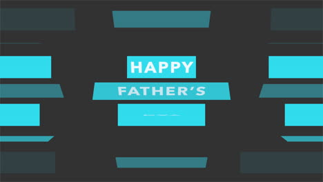 Animation-text-Fathers-day-on-black-fashion-and-minimalism-background-with-blue-lines