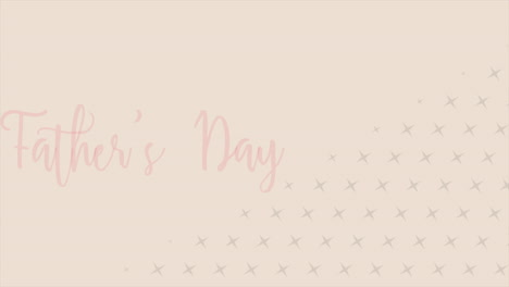 Animation-text-Fathers-day-on-brown-fashion-and-minimalism-background-with-geometric-crosses