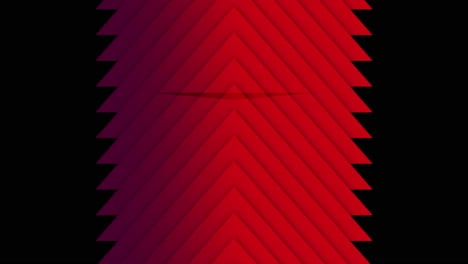 Motion-geometric-gradient-red-stripes-retro-abstract-background