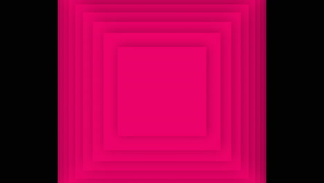 Motion-geometric-gradient-red-hypnosis-squares-retro-abstract-background